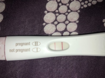 Strong First Response Positive Last Night Still 1 2 Weeks On