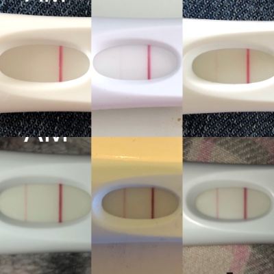 Frer Line Progression Countdown To Pregnancy