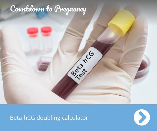 Beta Hcg Doubling Calculator Countdown To Pregnancy